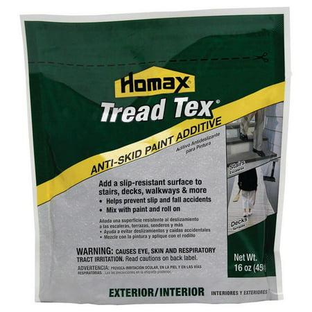 (18 Pack) Homax Tread-Tex Anti- Skid Paint Additive, 16 (Best Anti Condensation Paint)