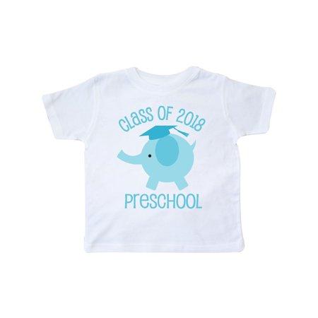 Preschool Class Of 2018 Graduation Toddler T-Shirt](Preschool Graduation Shirts)