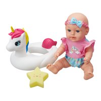 """My Sweet Love 12"""" Baby Doll with Unicorn Float, 3 Pieces"""