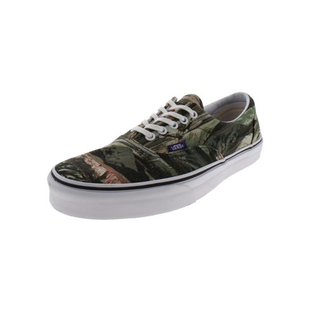 Vans Mens Era Printed Low Top Casual Shoes Green 9.5 Medium (Vans X Fear Of God Era 95 Dx)