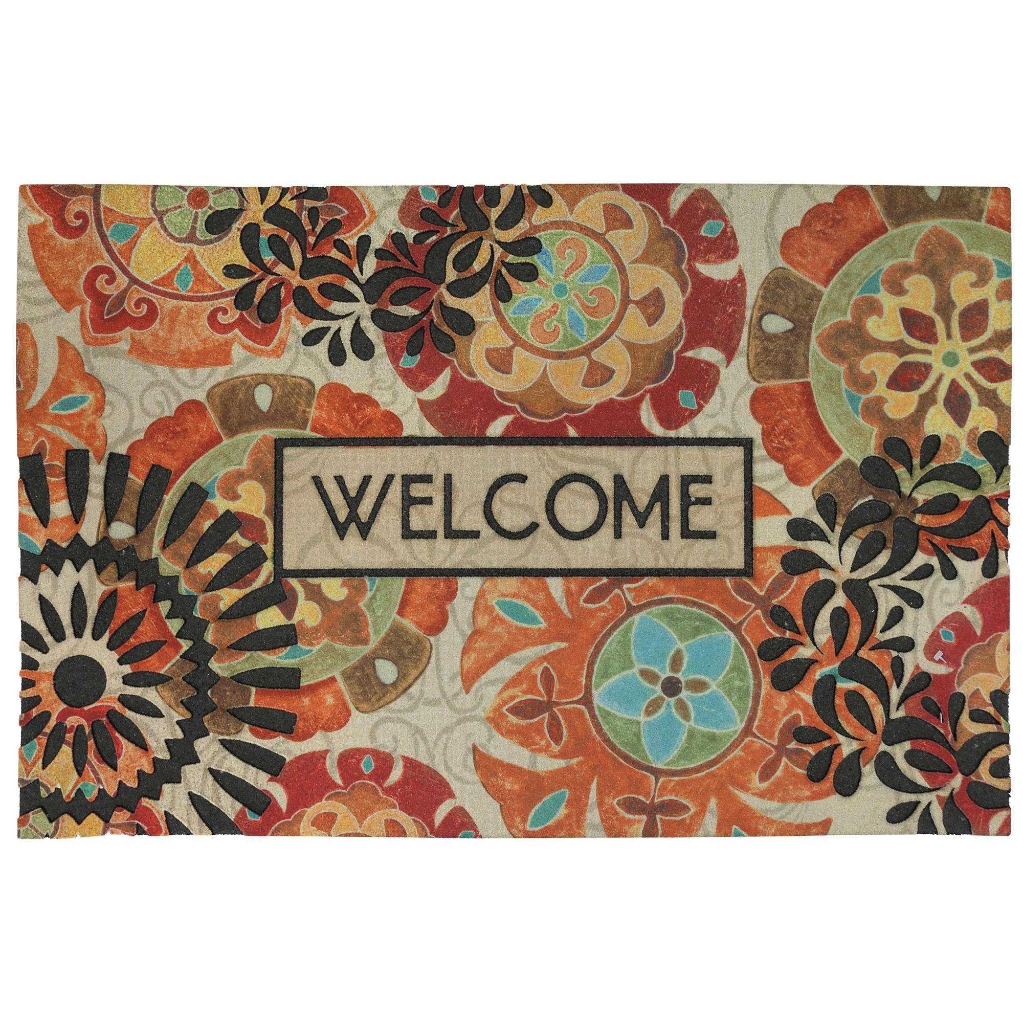 "Mohawk Home Eastern Suzani Welcome Doormat, 1'8"" x 2'11"""