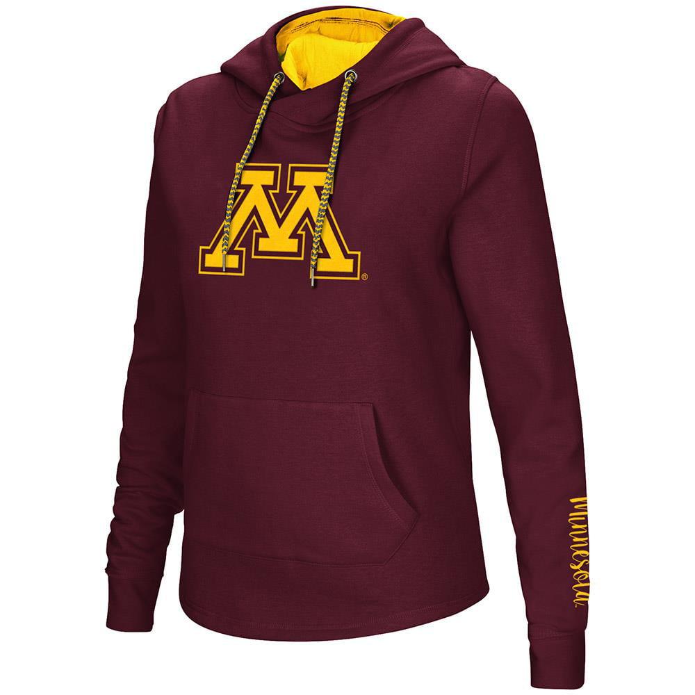 Womens Minnesota Golden Gophers Pull-over Hoodie - XL