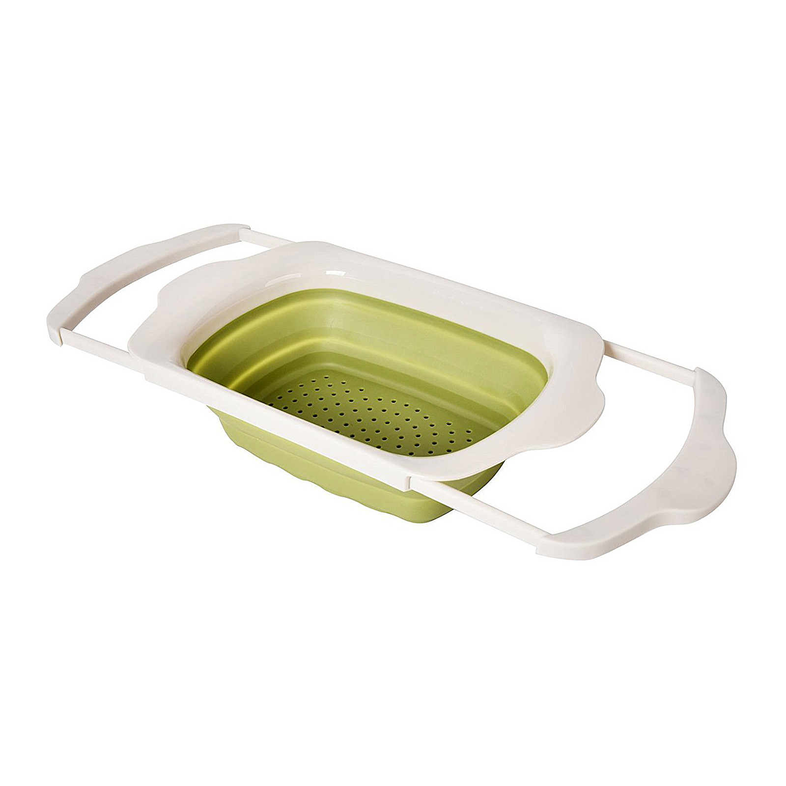 Click here to buy WELLAND Collapsible Kitchen Colander Over the Sink Strainer by Welland Industries LLC.