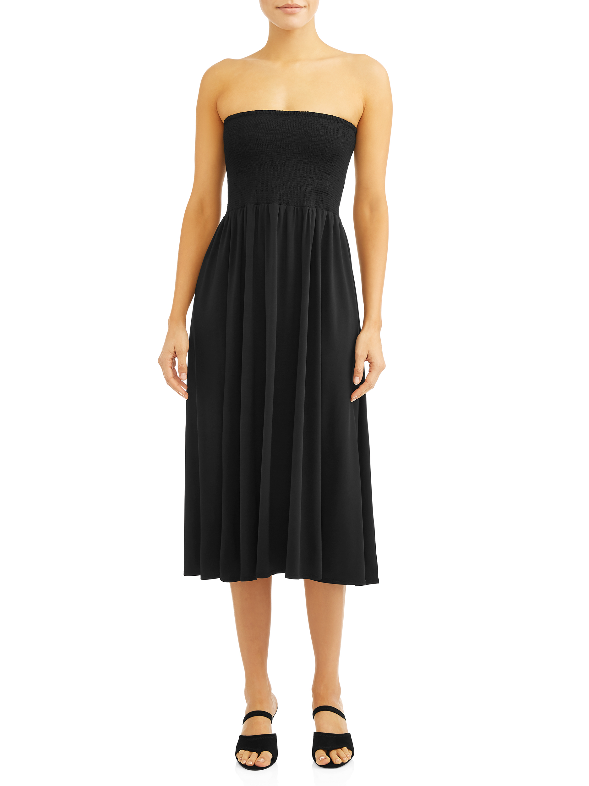 Women's Charlie Tube Top Midi Dress