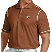 "Texas Longhorns Antiqua NCAA ""Icon"" Performance Polo Shirt - Burnt Orange"