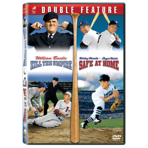 Baseball Double Feature: Kill The Umpire / Safe At Home (Widescreen, Full Frame)