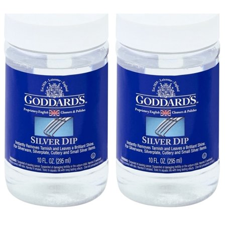 Silver Dip Cleaner Tarnish Remover Brand new Gorddards 10 Oz Pack Of (Best Silver Cleaner Dip)