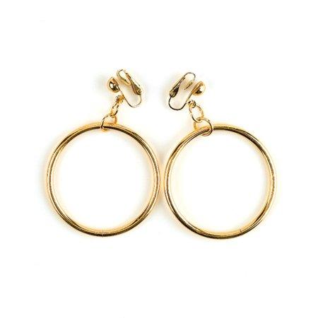 Hoop Earrings Halloween Accessory
