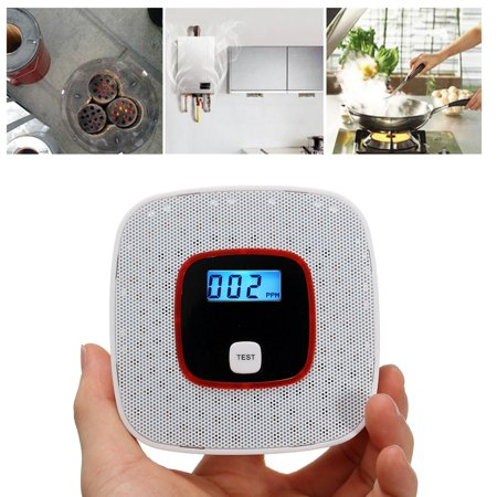Co Smoke Detector Sensor Alarm Alert Carbon Monoxide Leakage Sensor Human Voice Prompt Lcd Display For Home Kitchen Security Carbon Monoxide Detectors Back To Search Resultssecurity & Protection