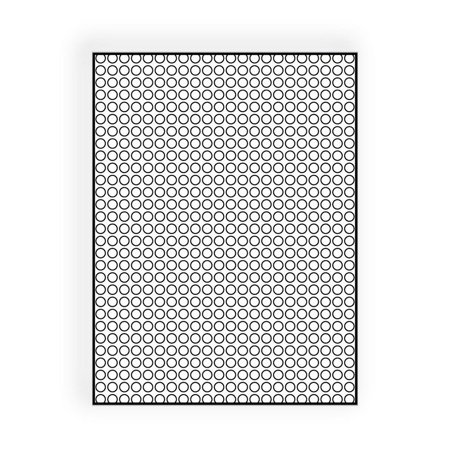 """Clear Bubble Pouch, 8-3/4"""" x 11-1/2"""", Bubble Cushioning, Fits inside 9 x 12, No Seal, Flush Cut (Box of 100)"""
