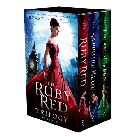 The Ruby Red Trilogy Boxed Set : Ruby Red, Sapphire Blue, Emerald Green