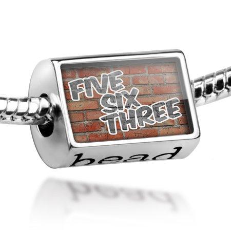 Bead 563 Davenport, IA brick Charm Fits All European Bracelets - Party City Davenport Ia