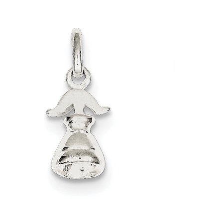 925 Sterling Silver Solid Polished Liberty Bell Charm Pendant Necklace Jewelry Gifts for Women 925 Sterling Silver Bells
