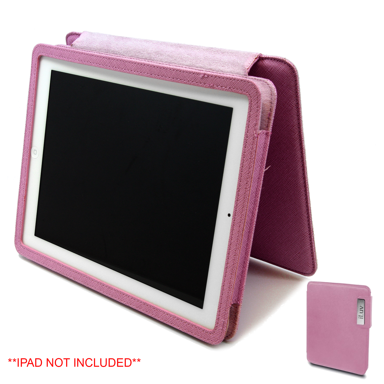 iLuv IOS Leather PC Case, Pink