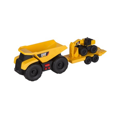Caterpillar Mini Trailer Team Dump Truck pulling