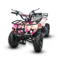 Electric Mini ATV Sonora on 350W 24V (pink camo)