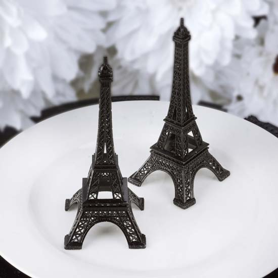 "Efavormart 6"" EIFFEL Tower Wedding Party Event Tabletop Centerpiece Decoration - PEWTER"