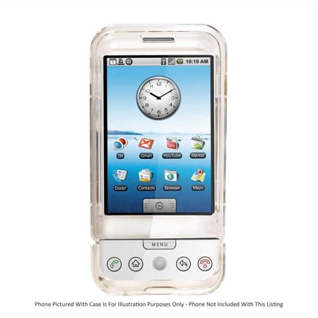 NEW CLEAR HARD CRYSTAL CASE FOR HTC G1 CELL (Crystal Mobile)
