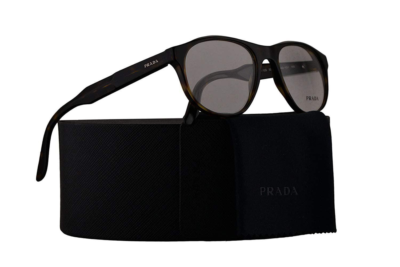 260a413cee2c Prada Journal PR12SV Eyeglasses 52-18-140 Matte Havana w Demo Clear Lens  HAQ1O1 VPR12S VPR 12S PR 12SV - Walmart.com