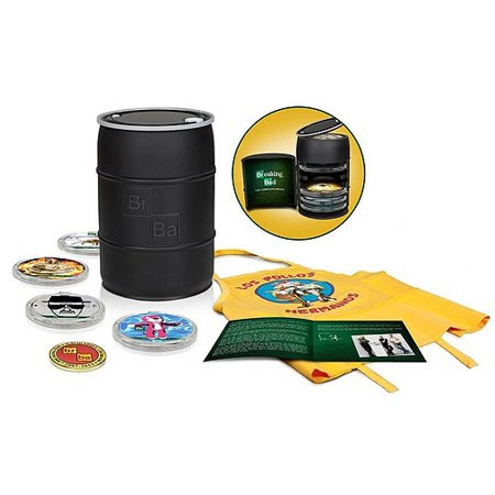 Breaking Bad  The Complete Series  2013 Barrel   Blu Ray
