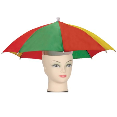 Star Power Stay Dry Rainbow Classic Umbrella Party Hat, One Size](Tea Party Hats For Sale)