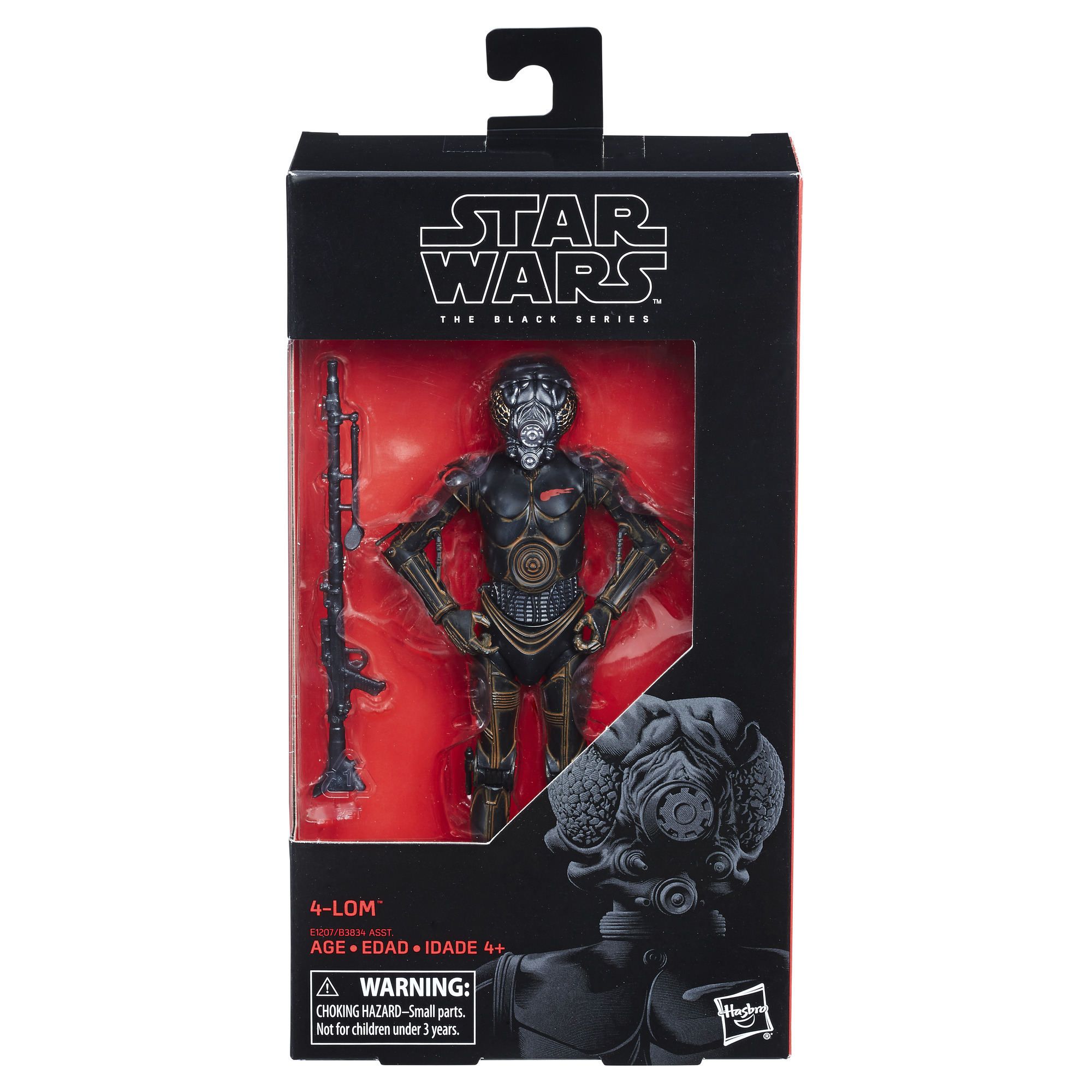 Star Wars The Black Series 6 Inch Action Figure B3834AS6A - 4-Lom #67