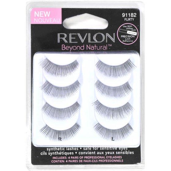 Revlon Beyond Natural Eyelashes 91182 Flirty Walmart
