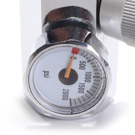 CO2 Cylinder Refill Adapter Connector Gas Regulator  - image 5 de 8