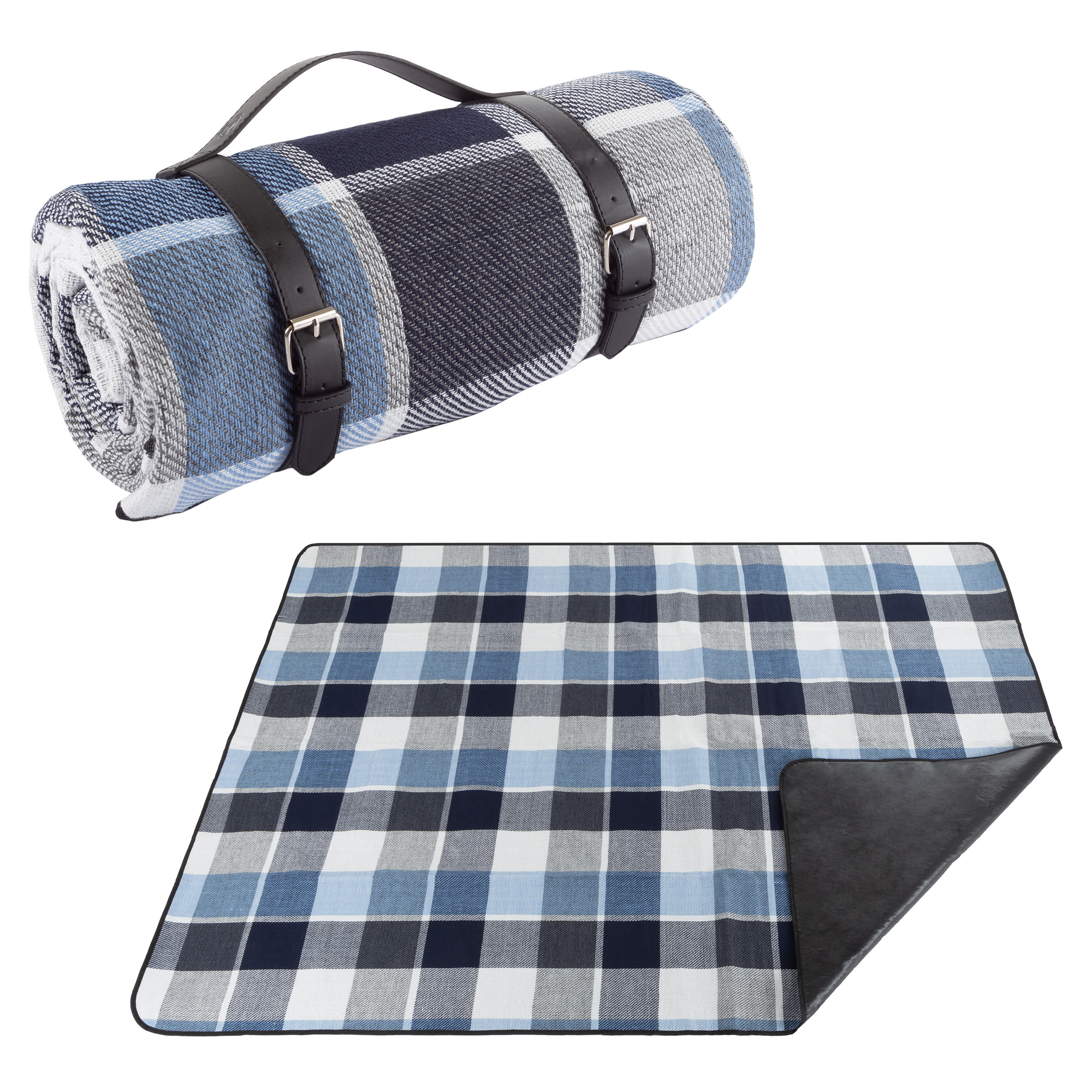 Picnic Blanket Mat 100cm  Waterproof Fleece Camping Outdoor Beach Festival Rug