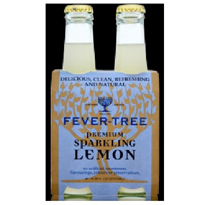 6 Pack :Fever Tree Sparkling Lemon 6.8 Fo