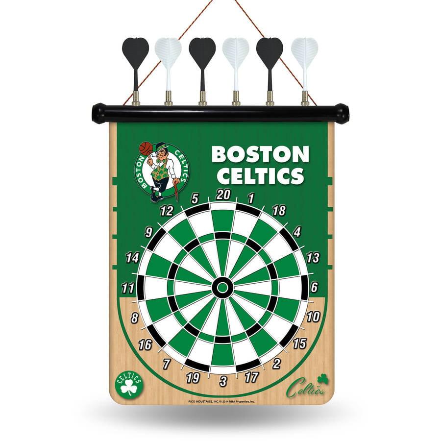 Rico NBA Magnetic Dart Set, Boston Celtics