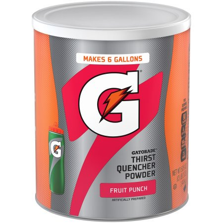 Punch Drink For Halloween ((3 Pack) Gatorade Thirst Quencher Drink Mix, Fruit Punch, 51 oz, 1)