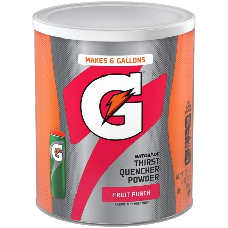 Gatorade Thirst Quencher Drink Mix, Fruit Punch, 51 oz, 1 Ct