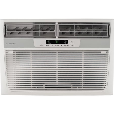 Frigidaire - 8000-BTU 115V Compact Slide-Out Chasis Air Conditioner/Heat Pump with Remote - White