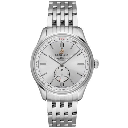 Breitling Premier Automatic 40 Silver Dial Men's Watch A37340351G1A1 Breitling Premier Automatic 40 Silver Dial Men's Watch A37340351G1A1