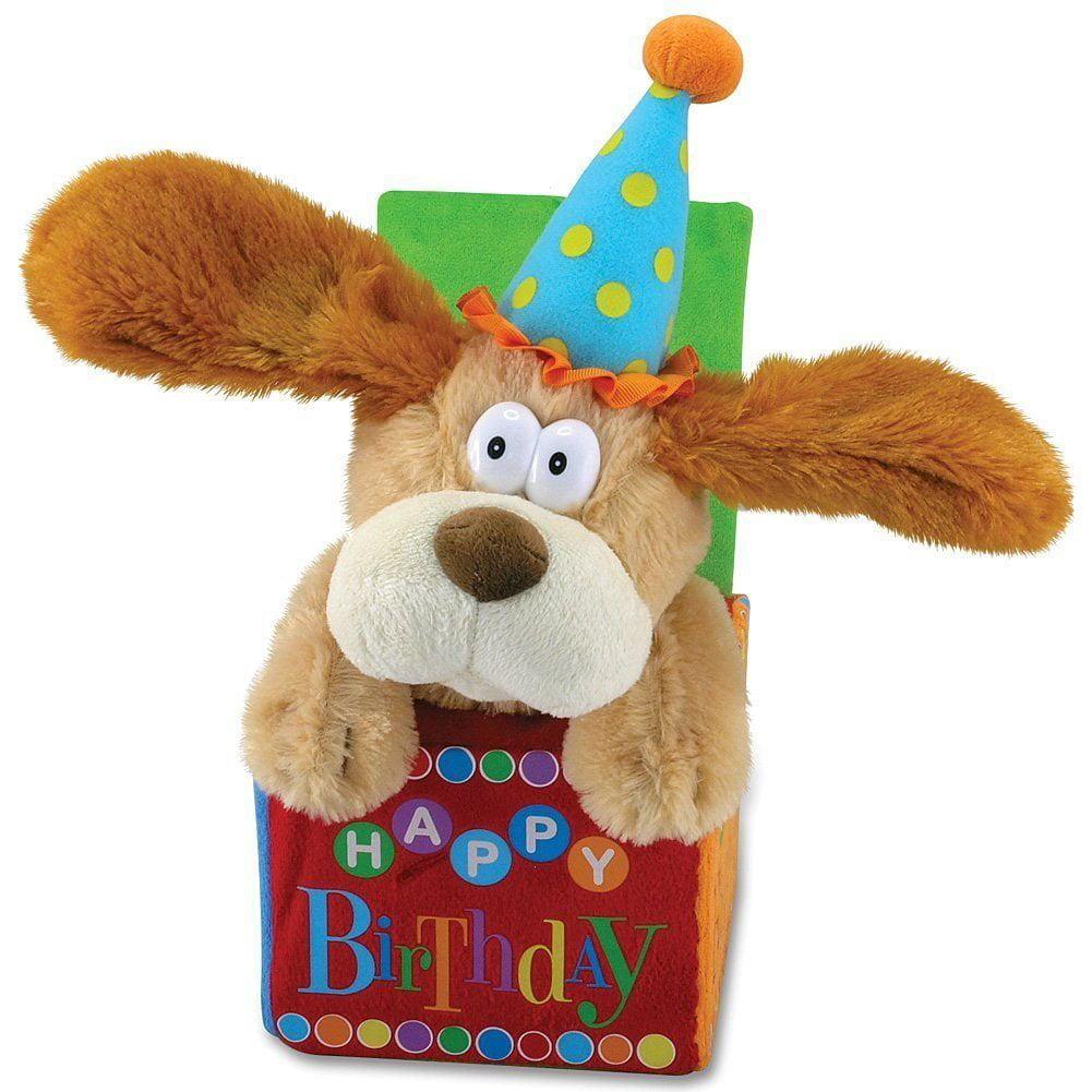 12 Flappy Birthday Animated Plush Puppy Dog Singing Happy Inch