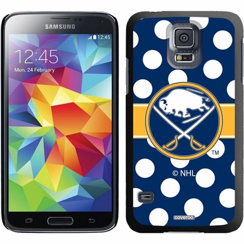 Buffalo Sabres Galaxy S5 Polka Dot Thin-Shield Case - No Size