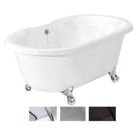 American-Bath-Factory-T080A-SN-Celine-Bathtub-no-Faucet-Holes-White