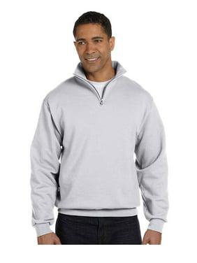 48aab57f464 Product Image Jerzees Men s Quarter-Zip Cadet Collar Pullover Sweatshirt