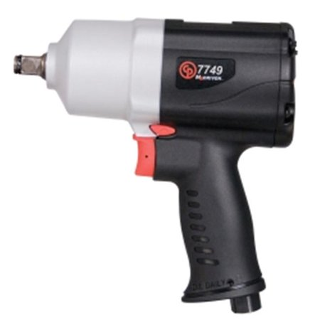 Chicago Pneumatic 7749 ½ in. Air Impact Wrench – Pneumatic Tool with Twin Hammer Chicago Pneumatic Air Tool Buffer