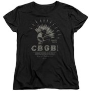 Cbgb - Electric Skull - Women's Short Sleeve Shirt - Small
