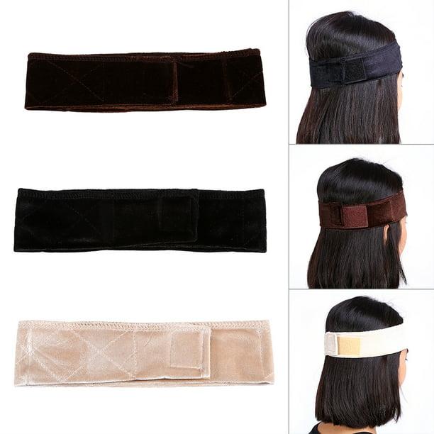 Yosoo New Women Velvet Wig Grip Scarf Head Wrap Headband
