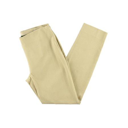 Lauren Ralph Lauren Womens Solid Twill Skinny Pants - Lauren Ralph Lauren Cotton Twill Pant