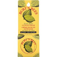 2 Pack - Burt's Bees Lemon Butter Cuticle Cream Tin .6Oz Each