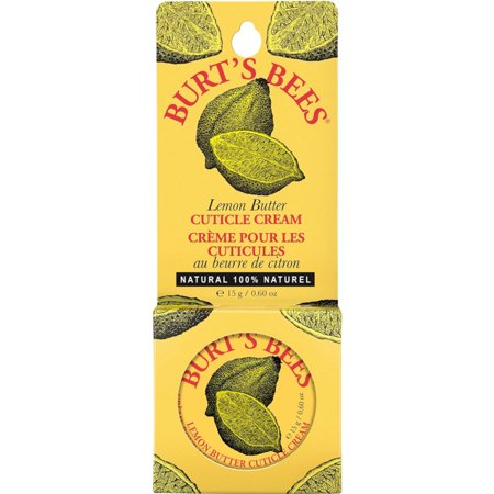 2 Pack - Burt's Bees Lemon Butter Cuticle Cream Tin .6Oz Each Lemon Butter Cuticle Cream