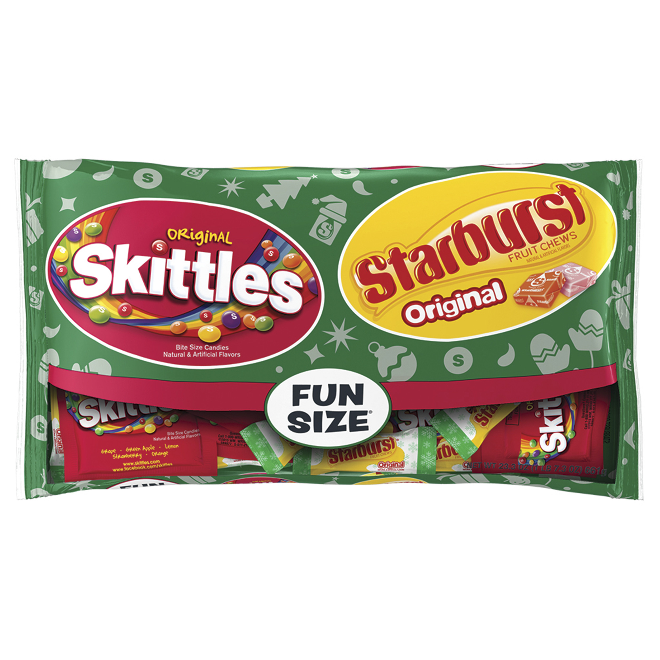 Skittles, And Starburst, Christmas Tinsel Treats (6.5-Oz Package)