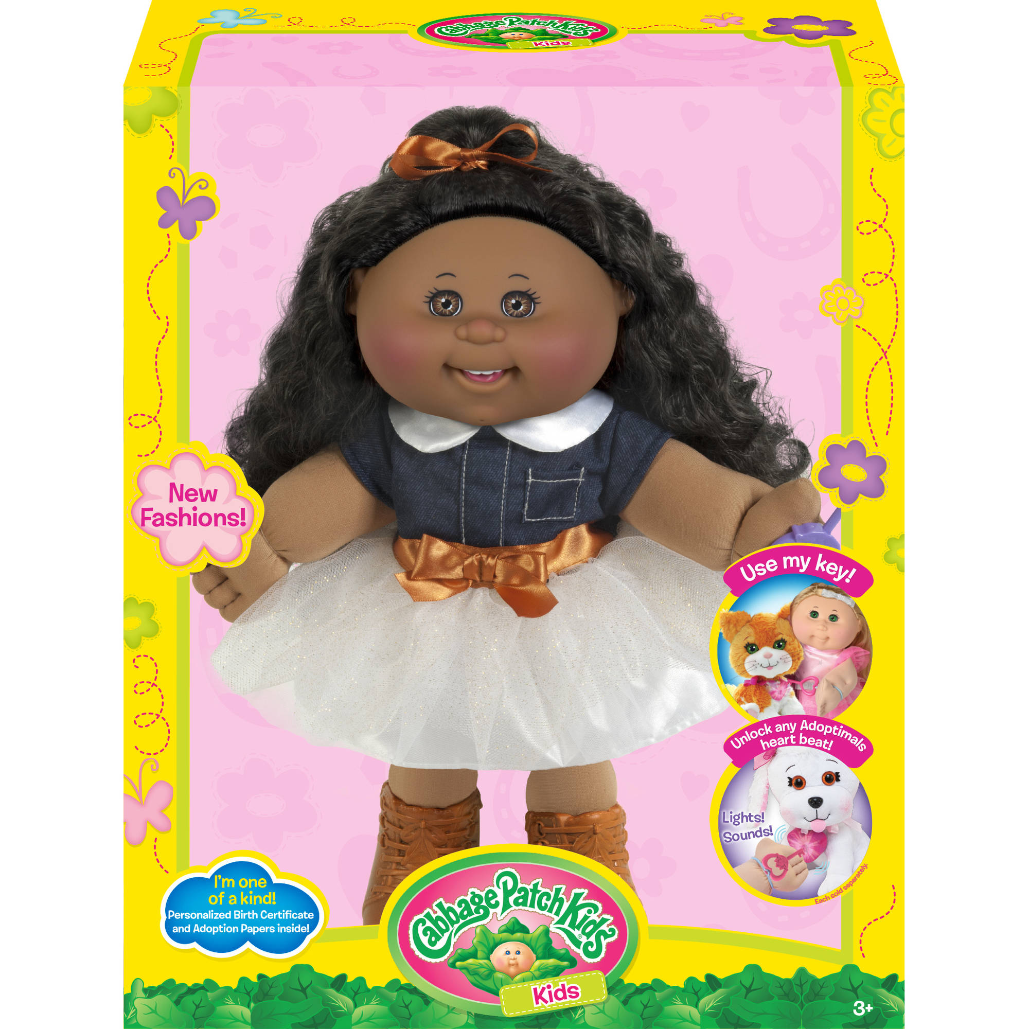 Cabbage patch kids 14 doll african american cowgirl fashion cabbage patch kids 14 doll african american cowgirl fashion unlock pets heart ebay negle Images