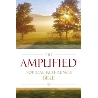 Amplified Topical Reference Bible, Hardcover (Hardcover)