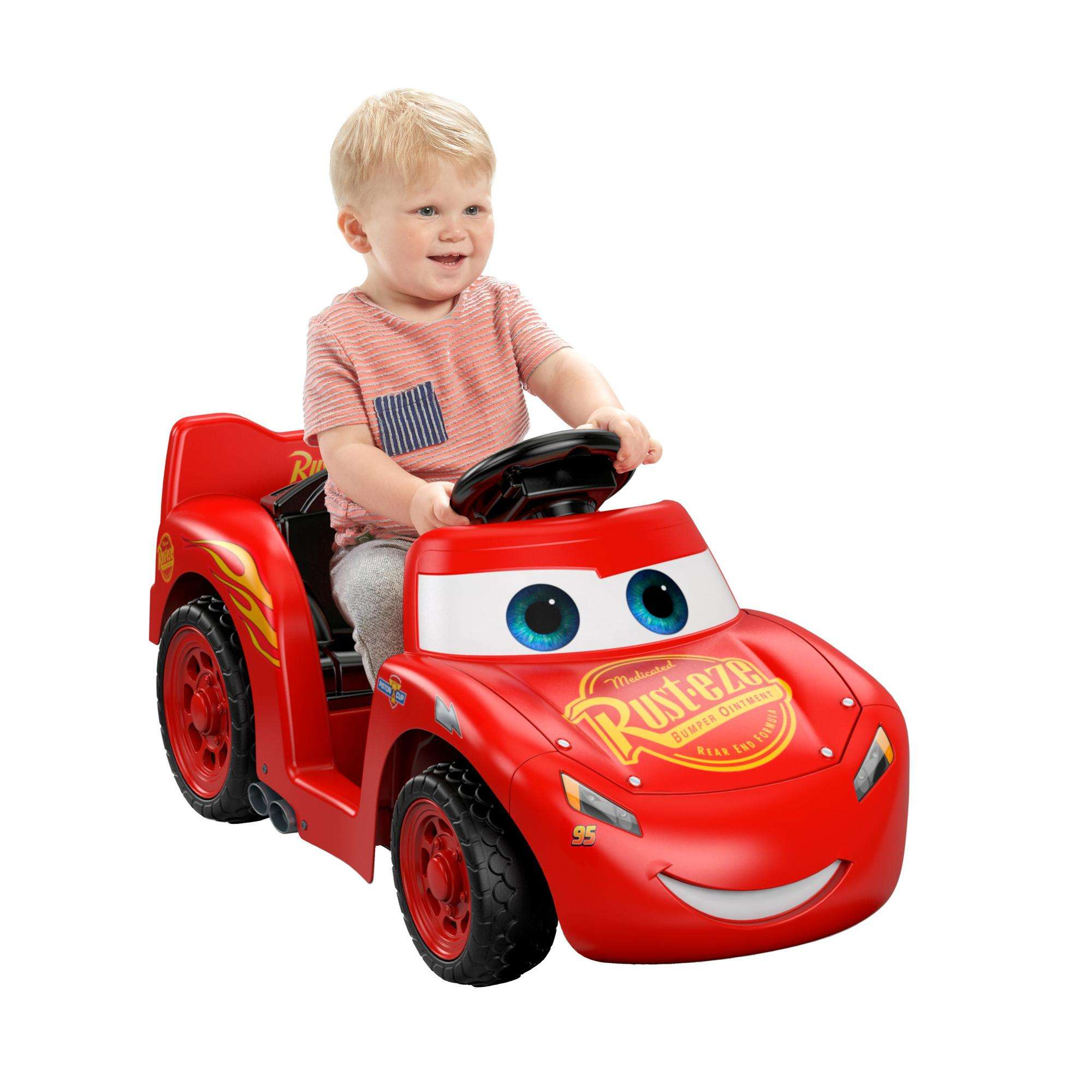 Power Wheels Disney Pixar Cars 3 Lil' Lightning McQueen by FISHER PRICE