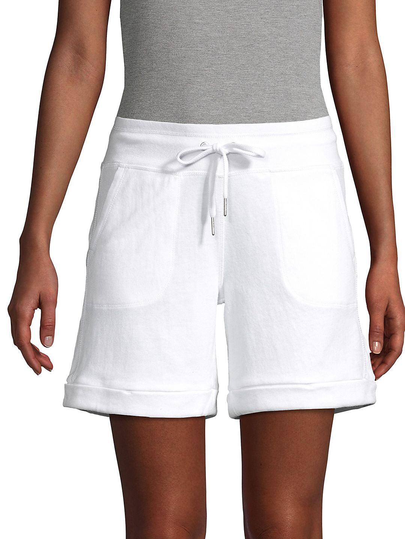 Cuffed Midi Shorts